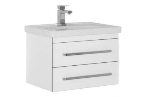 Тумба с раковиной Aquanet Сиена 70 белый (186361+185343) Мебель для ванных комнат