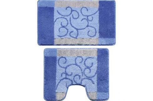 Набор ковриков для ванной Milardo Fine Lace 50x80 и 50x50 см (350PA68M13) Аксессуары для ванной