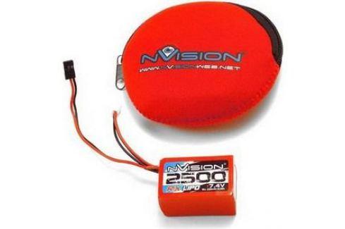 Аккумулятор nVision RX Li-Po 7.4В Hump 2S 10C 2500мАч Аккумуляторы Li-Po, Li-Fe, Li-Ion