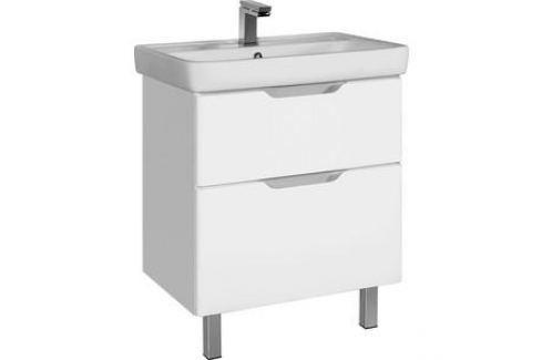Тумба с раковиной Dreja Q Plus 70 белый (99.0005 + 191645) Мебель для ванных комнат
