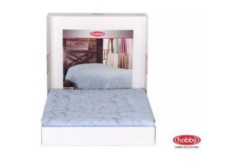 Покрывало Hobby home collection 2-х сп, махровое, Sultan Голубой Покрывала