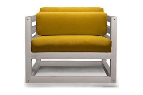 Кресло Anderson Магнус бел дуб-желтый вельвет. Электроника и оборудование