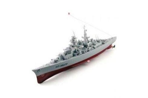 Радиоуправляемый русский эсминец Heng Tai Speed Battle Ship 1:360 40Mhz Судомодели