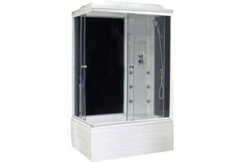 Душевая кабина Royal Bath 100х80х217 стекло правая черное/прозрачное (RB8100BP3-BT-R) Душевые кабины