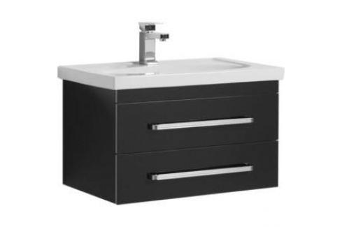 Тумба Aquanet Сиена 70 черный (189226) Мебель для ванных комнат