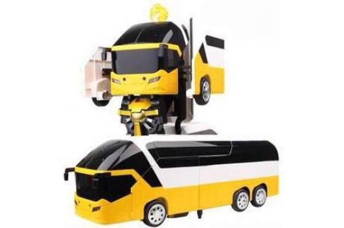 Радиоуправляемый трансформер MZ Model Желтый автобус 1:14 Электроника и оборудование