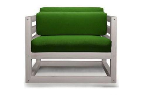 Кресло Anderson Магнус бел дуб-зеленый вельвет. Электроника и оборудование