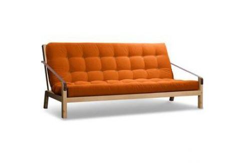 Диван Anderson Локи сосна-оранжевый вельвет Прямые диваны