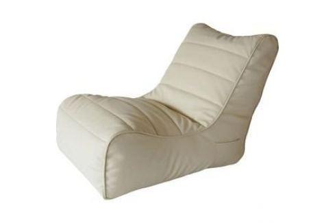 Бескаркасное кресло Папа Пуф Soft lounger beige Кресла