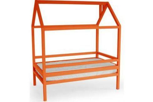 Кровать Anderson Дрима H оранжевая 90x190 Детские кровати
