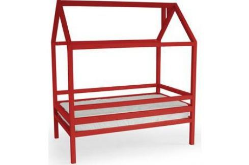 Кровать Anderson Дрима H красная 80x160 Детские кровати