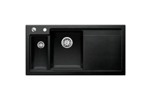 Кухонная мойка Blanco Axon II 6 S черный чаша слева (524150/516555) Кухонные мойки