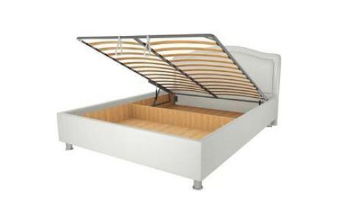Кровать OrthoSleep Арно lite механизм и ящик Сонтекс Милк 80х200 Кровати для спальни