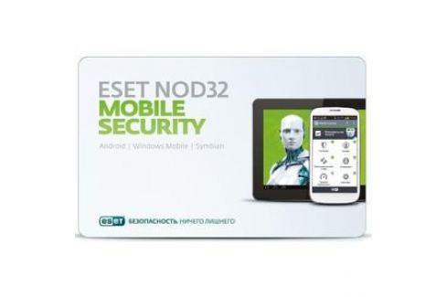 Антивирус ESET NOD32 Mobile Security 3 устройства/1 год (NOD32-ENM2-NS(CARD)-1-1) Программное обеспечение