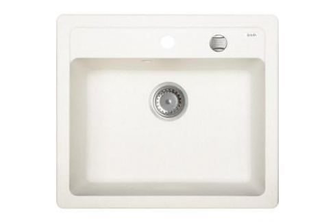 Кухонная мойка IDDIS Vane G 500x570 белый (V05W571i87) Кухонные мойки
