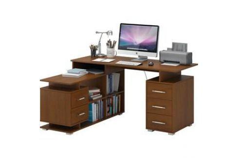 Стол Мастер Барди-3 (орех) МСТ-УСБ-03-ОР-16 Компьютерные столы