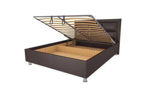 Кровать OrthoSleep Сполето lite механизм и ящик Сонтекс Умбер 160х200 Кровати для спальни