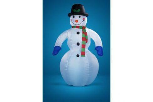 Snowmen надувной снеговик с вентилятором и светом. 2. 5м (Е40174) Новогодние украшения