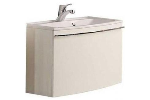 Тумба с раковиной Акватон Севилья 80 белый жемчуг (1A126301SEG30 + 1A70643KML010) Мебель для ванных комнат