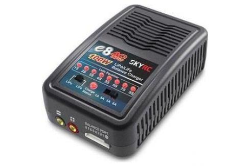 Зарядное устройство SkyRC E8 AC Li Po.Li Fe Электроника и оборудование