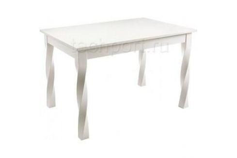 Стол деревянный Woodville Krono butter white Обеденные столы