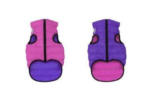 Курточка CoLLaR AiryVest двухсторонняя розово-фиолетовая размер S 40 для собак (1581) Одежда