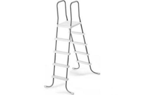 Лестница Intex для бассейнов до 132 см (28067) 4 ступеньки с площадкой Лестницы