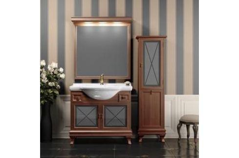 Тумба с раковиной Opadiris Борджи 95 светлый орех (Z0000003846 + Z0000000720) Мебель для ванных комнат