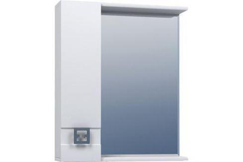 Шкаф навесной Mixline Квадро 65 левый (2505175331822) Мебель для ванных комнат
