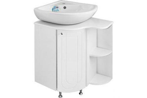 Тумба под раковину Mixline Корнер левая, Элегия угловой (2250205247108) Мебель для ванных комнат