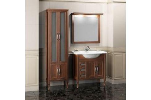 Тумба с раковиной Opadiris Мираж 80 светлый орех (Z0000006876 + Z0000006599) Мебель для ванных комнат