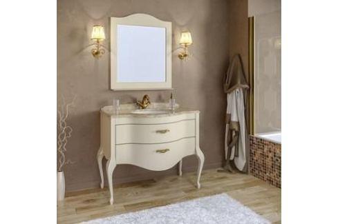 Тумба со столешницей и раковиной Timo Еллен плюс 2 ящика, аворио (Elp.t-100 M-V (A)) Мебель для ванных комнат