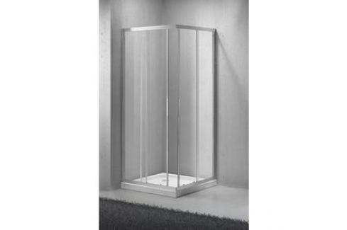Душевой уголок BelBagno SELA-A-2-95-Ch-Cr стекло Chinchilla Душевые уголки