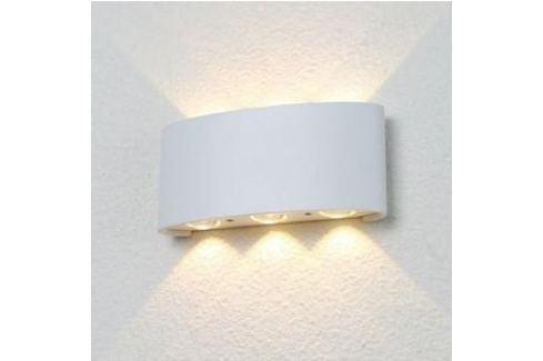 Уличный настенный светодиодный светильник Crystal Lux CLT 023W3 WH Уличные светильники