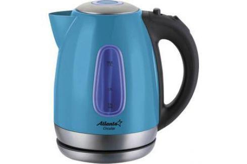 Чайник электрический Atlanta ATH-786 голубой Чайники электрические