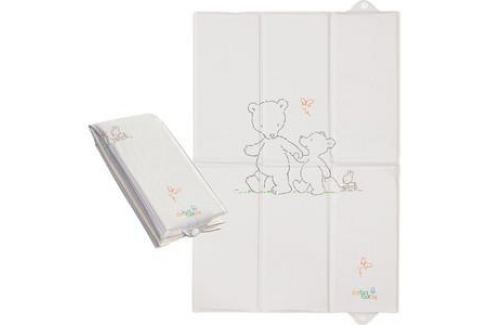 Матраc пеленальный Ceba Baby 40*60 см для путешествий Papa Bear grey W-305-004-260 Пеленальные столики и матрасы