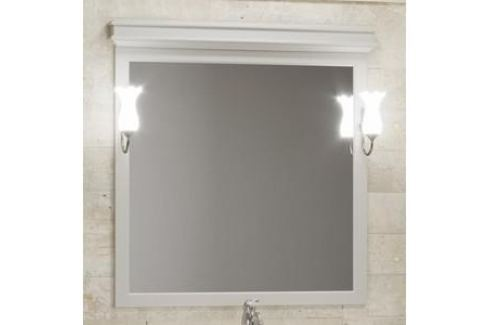 Зеркало Opadiris Борджи 95 слоновая кость, для светильников 00000001041 (Z0000012530) Мебель для ванных комнат