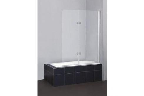 Душевая шторка на ванну BelBagno SELA-V-21-120/140-Ch-Cr-R стекло Chinchilla Шторки для ванной