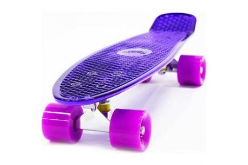 Скейтборд Hubster Cruiser 22 Metallic purple 9277П Детские скейтборды