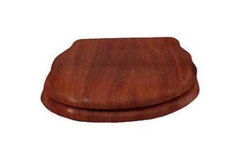 Сиденье для унитаза Cezares Royal Palace деревянное орех микролифт фурнитура золото (CZR-T-012W-S-G) Для унитазов
