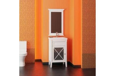 Тумба под раковину Opadiris Палермо 50 белый левая (Z0000008558) Мебель для ванных комнат