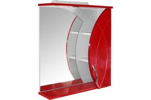 Шкаф навесной Mixline Магнолия 61 вишня (2210105259250) Мебель для ванных комнат