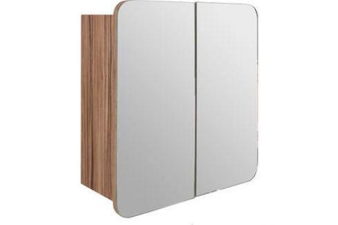 Зеркальный шкаф Mixline Того 60 эбони светлый (2181105252650) Мебель для ванных комнат