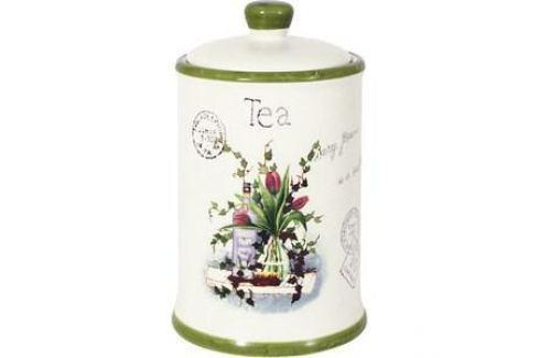 Банка для сыпучих продуктов (чай) Anna Lafarg LF Ceramics Букет (AL-175F6294-B-LF) Посуда для хранения продуктов