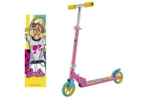 Самокат 2-х колесный 1Toy Barbie, колёса 145мм Т59578 Двухколесные самокаты