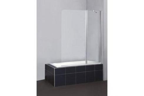 Душевая шторка на ванну BelBagno SELA-V-11-120/140-C-Cr стекло порзрачное Шторки для ванной