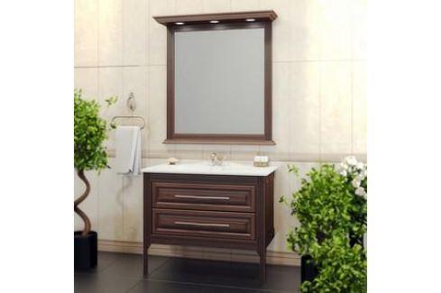 Тумба под раковину Opadiris Корлеоне 100 светлый орех с темной патиной (Z0000008188) Мебель для ванных комнат
