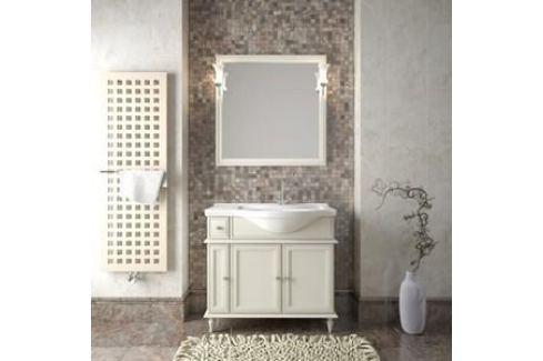 Тумба с раковиной Opadiris Санрайз 90 слоновая кость правая (Z0000006354 + Z0000006234) Мебель для ванных комнат