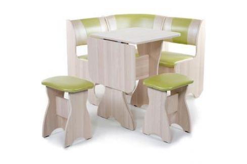 Набор мебели для кухни Бител Тюльпан мини - комби (ясень С-105 + С-101 ясень) Кухонные уголки