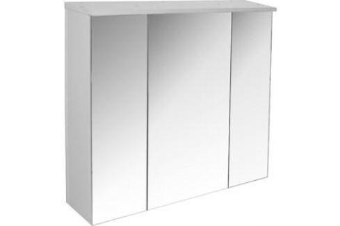 Шкаф навесной Mixline Неаполь 75 белый (2100905122116) Мебель для ванных комнат